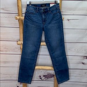 Talbots Flawless 5 Pocket Slim Ankle Jeans 6P NWT